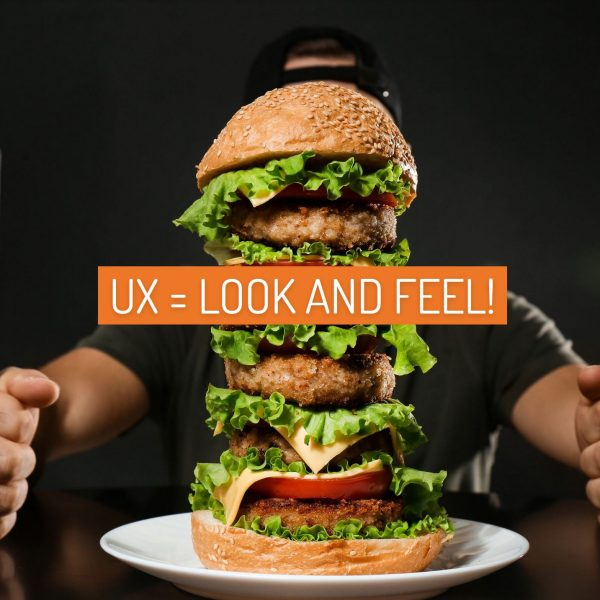 UX = Look AND Feel